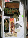GI Joe Footlocker with outfits for sale or trade